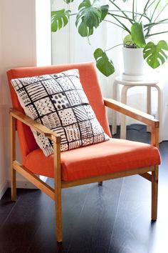 UKKONOOA: 70s chair reupholstered