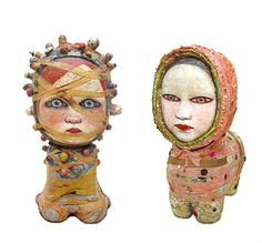 Mariana Monteagudo's latex, ceramic and mixed-media dolls reflect Latin American culture and show her attraction to Japanese manga and mass-market toys. The Miami-based, Venezuelan artist has been creating the Munecas (dolls) for 15 years.