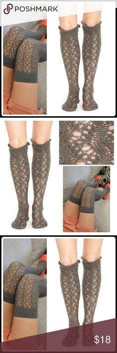 JUST INFLIRTY CROCHETED OVER THE KNEE SOCKS With Tags Delicate, lacy openwork lends flirty style to a pair of tall over-the-knee socks.  Knit from soft acrylic Banded cuffs Acrylic Hand wash/line dry   2+ BUNDLE=SAVE  ‼️NO TRADES--NO HOLDS--NO MODELING   Brand Authentic   ✈️ Ship Same Day--Purchase By 2PM PST   USE BLUE OFFER BUTTON TO NEGOTIATE   ✔️ Ask Questions Not Answered In Description--Want You Yo Be Happy Lime Accessories Hosiery & Socks
