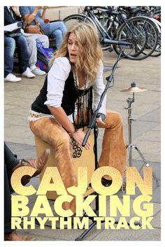 Cajon Backing Rhythm Track 105 BPM