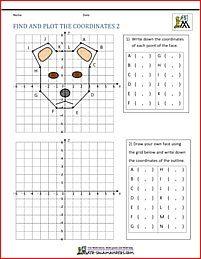 Coordinate Plane Worksheets Find And Plot 2 Hojas De Trabajo De Matematicas Funciones Matematicas El Plano Cartesiano