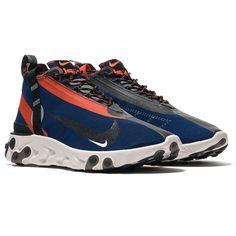 The Nike React Runner is a Comfortable Waterproof Running Shoe Vans Classic Old Skool, Mid Top Shoes, Foot Games, Nike Air Jordans, Foot Locker, Bracelets For Men, Designer Shoes, Sneakers Fashion, Sport