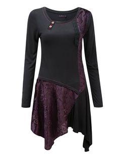 Devoré-Kleid »beeindruckend«
