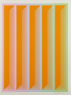 Richard Anuszkiewicz, 'Plates IV, V, VII, IX from the Sequential portfolio', 1972, Rago