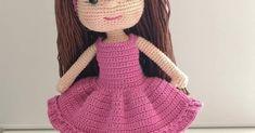 Amigrumi Tarifleri Crochet Dolls Free Patterns, Crochet Doll Pattern, Baby Knitting Patterns, Doll Patterns, Crochet For Kids, Crochet Baby, Free Crochet, Booties Crochet, Amigurumi Doll