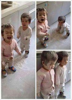 Their little faces are so cute.