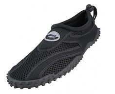Easy USA Womens Aqua Wave Water Shoes 9 BlackBlack *** Find out more about the great product at the image link.Note:It is affiliate link to Amazon.