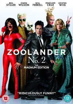 *July 2016* Zoolander 2 [DVD] [2016]