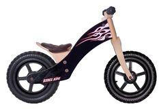 Wood Bike - Black by Rebel Kidz Rebel, Wood Bike, Kids Bike, Tricycle, Blue Orange, Motorcycle, Things To Sell, Vehicles, Black