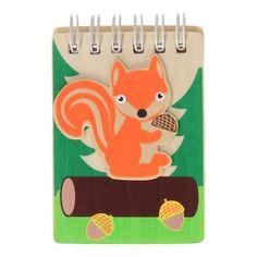 Verhalen, dromen en wensen; je schrijft ze op in dit Houten Notitieboek Bosdieren. Er zijn verschillende uitvoeringen die gevarieerd worden geleverd. Afmetingen: notitieboek 9 x 6 x 1 cm. - Houten Notitieboek Bosdieren