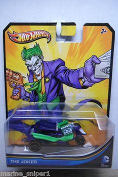 2013 Hot Wheels 1 64 DC Comics The Joker Purple PR5 Black Ml | eBay
