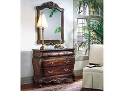 ACME Furniture Inc. - - Entryway-(07319 SET)Bombay Chest & Mirror