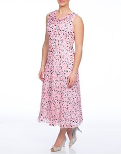 Anna Rose Chiffon Dress