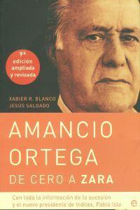 De Amancio Ortega, una de las personas más ricas de España y del mundo, muchos han oído hablar pero casi nadie ha visto su rostro; la inmensa mayoría de la gente conoce uno de los negocios que le ha hecho  multimillonario -la cadena Zara-, pero ningún aspecto de su vida privada. http://www.imosver.com/es/libro/amancio-ortega-de-cero-a-zara_5259980325