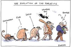These 15 Cartoons Perfectly Capture The Dark And Hilarious Side Of  Human Evolution http://www.wimp.com/evolution-comics-darwin-day/