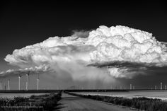 Thunderstorm and Wind Farm, Limon, CO © Jason Odell
