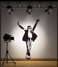 michael jackson Living Room Wall Sticker Art Decal Reusable & Removable | eBay