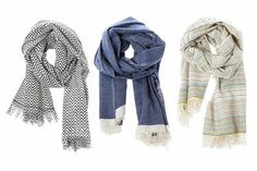 organic nursery scarf