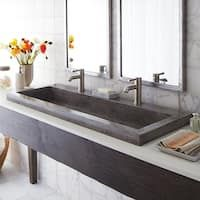 Bathroom decor for your master bathroom remodel. Learn master bathroom organization, bathroom decor a few ideas, bathroom tile a few ideas, master bathroom paint colors, and more. Trough Sink Bathroom, Drop In Bathroom Sinks, Concrete Bathroom, Large Bathrooms, Modern Bathroom, Master Bathrooms, Minimal Bathroom, Bathroom Vanities, Boho Bathroom