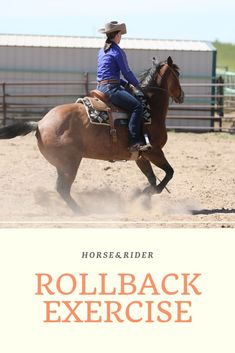 Use this rollback exercise at home to ensure that you stay out of the penalty box when you go show. Horseback Riding Tips, Horse Riding Tips, Horse Training, Training Tips, Training Exercises, Training Equipment, Horses And Dogs, Show Horses, Reining Horses