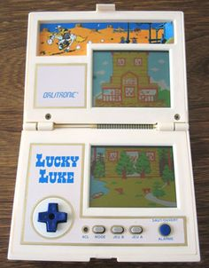 Chariot Ikea, Pocket Game, Discussion, Player One, Lucky Luke, Lcd, School Videos, Game & Watch, Antique Toys