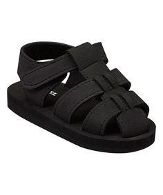 84a98bacfe9d Angel Black Soft Sandal - Kids