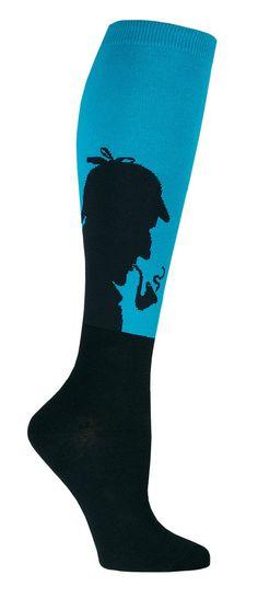 Sherlock Knee High Socks