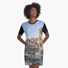 Promote | Redbubble Tank Man, Mens Tops, Fashion, Venice Italy, City, Moda, Fashion Styles, Fashion Illustrations
