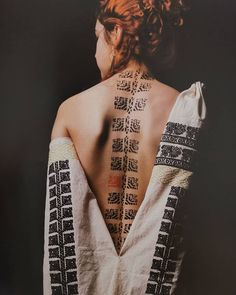 Second Skin, Tatting, Body Art, Two By Two, Ink, Embroidery, Symbols, Traditional, Blouse