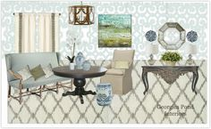 Creating mood boards for decorating inspiration, E-decorating