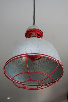 industrial light fixture for beach house