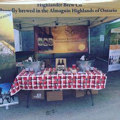 Thirsty? Stop by @highlander_brew_co  #bayofquinte #quintecraft #quintelicious #craftbeer