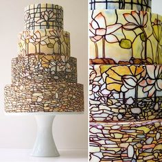 Google Image Result for http://www.groomsoldseparately.com/wp-content/uploads/2011/05/stained-glass-tiffanyglass-weddingcake1.jpg