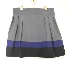 Scared Stitchless: Colourblock Skirt + Tutorial