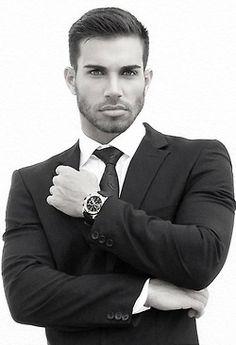 Darian Alvarez...men's classic suit