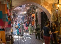 A riot of colour awaits in Morocco, where travellers can wander through the souks of Marra...