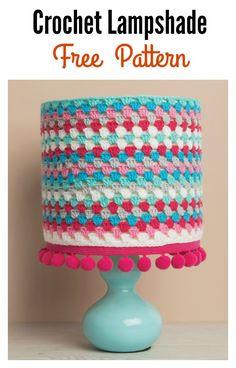 Free Crochet Lampshade Pattern