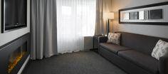 LEMAYMICHAUD | INTERIOR DESIGN | ARCHITECTURE | QUEBEC | Hotel Manoir Victoria Architecture, Quebec, Victoria, Curtains, Interior Design, Home Decor, The Mansion, Arquitetura, Nest Design