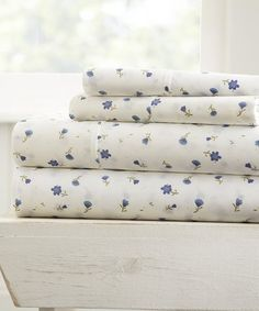 This Floral Home Collection™ Sheet Set is perfect! #zulilyfinds