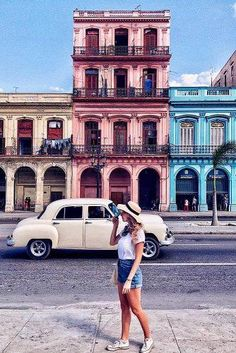 Amazing Cheap Honeymoon Ideas For Your Rest ★ cheap honeymoon ideas vedado cuba old town Cheap Honeymoon, All Inclusive Honeymoon, Honeymoon Places, Honeymoon Ideas, Cuba Travel, Havana Cuba, Old Town, Night Life, Places To See