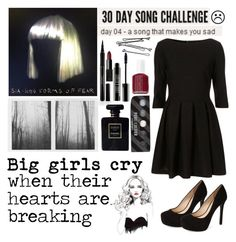 """""""Day 04 [ 30 Day Song Challenge ]"""" by mafermsucre ❤ liked on Polyvore featuring Elizabeth Arden, Jessica Simpson, Lord & Berry, Chanel, Essie, BOBBY and NARS Cosmetics"""