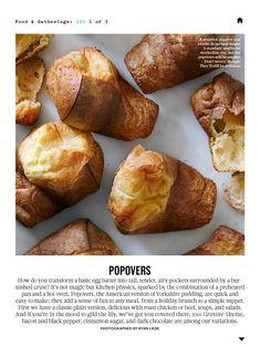 Martha Stewart Living November 2013: Popovers