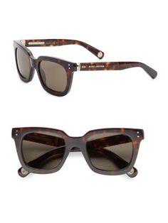 MARC JACOBS Wayfarer Square Sunglasses. #marcjacobs #sunglasses