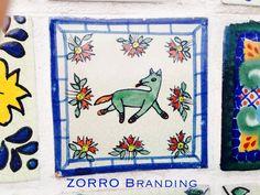 Diseño de azulejos en San Miguel de Allende.
