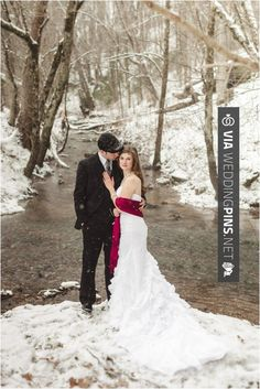 So awesome -  | CHECK OUT MORE FANTASTIC PICTURES OF NEW Christmas Weddings HERE AT WEDDINGPINS.NET | #christmasweddings #winterweddings #christmas #winter #whitewedding #weddingthemes #cakes #weddings #boda #weddingphotos #weddingpictures #weddingphotography #brides #grooms