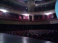 Opéra de Lille (photo prise pendant la maintenance électrique)