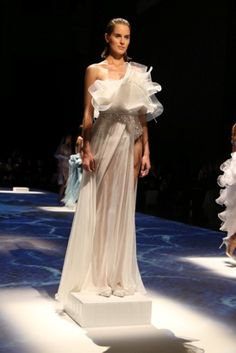 """LANYU 2014 Collection """"Water. Charm"""" Wedding Gowns, One Shoulder, Charmed, Formal Dresses, Water, Inspiration, Collection, Fashion, Homecoming Dresses Straps"""