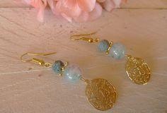 Σκουλαρίκια με αχάτη και φιλιγκρί Pearl Earrings, Drop Earrings, Earrings Handmade, Jewellery, Pearls, Pearl Drop Earrings, Pearl Studs, Jewels, Jewelry Shop