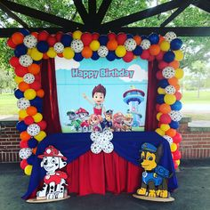 Are you ready to Paw-ty? These Paw Patrol Birthday Party Ideas will make you Pup Pup Boogie. Paw Patrol Cakes, Party Decor, Party Supplies, More! Paw Patrol Birthday Decorations, Paw Patrol Birthday Theme, Paw Patrol Cake, Paw Patrol Pinata, Paw Patrol Toys, Paw Patrol Balloons, Paw Patrol Party Supplies, Boy Birthday Parties, Birthday Party Menu