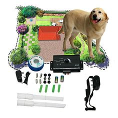 Underground Dog Electric Fencing Shock Collar System...FREE SHIPPING...